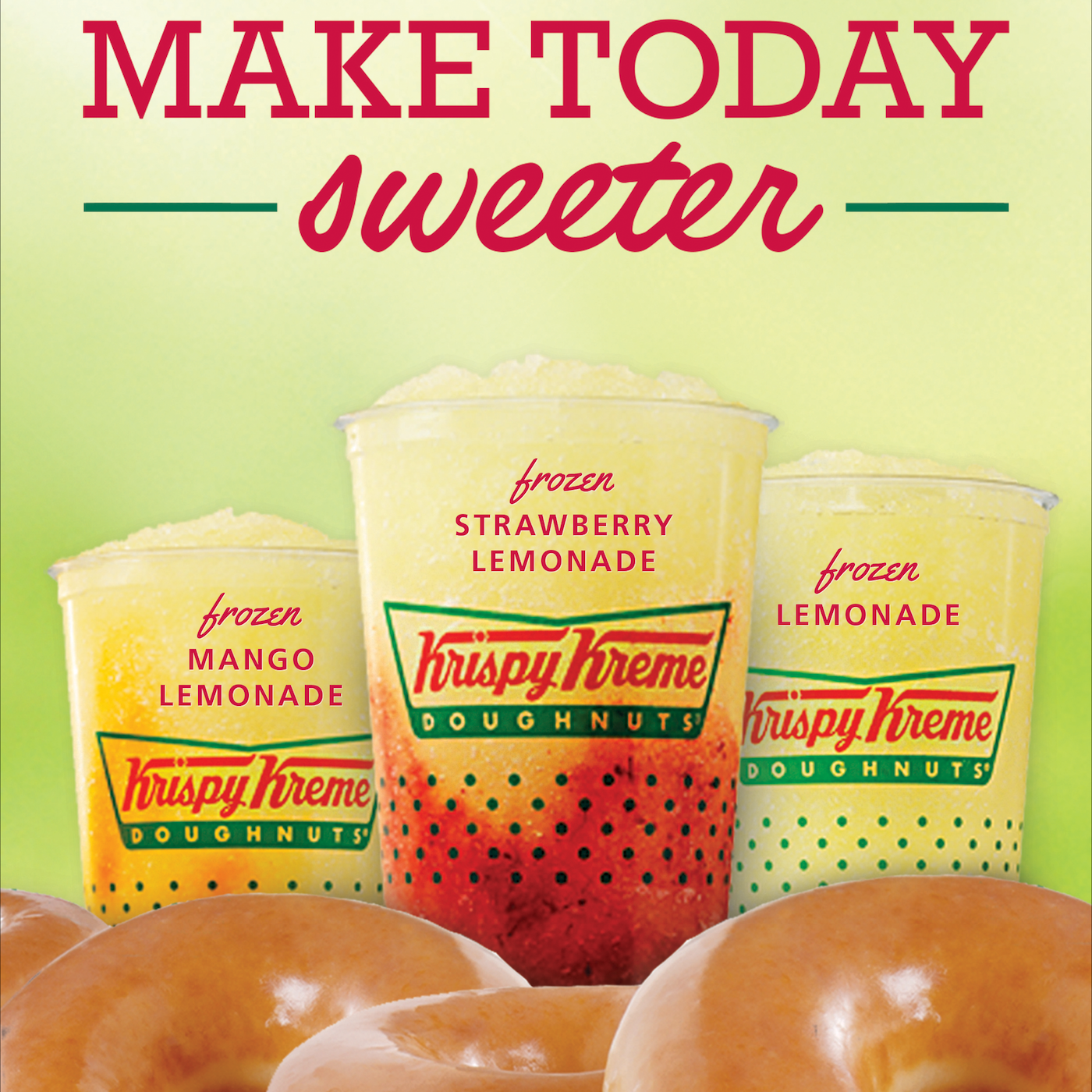 Make Today Sweeter Krispy Kreme Print Ad Thumbnail