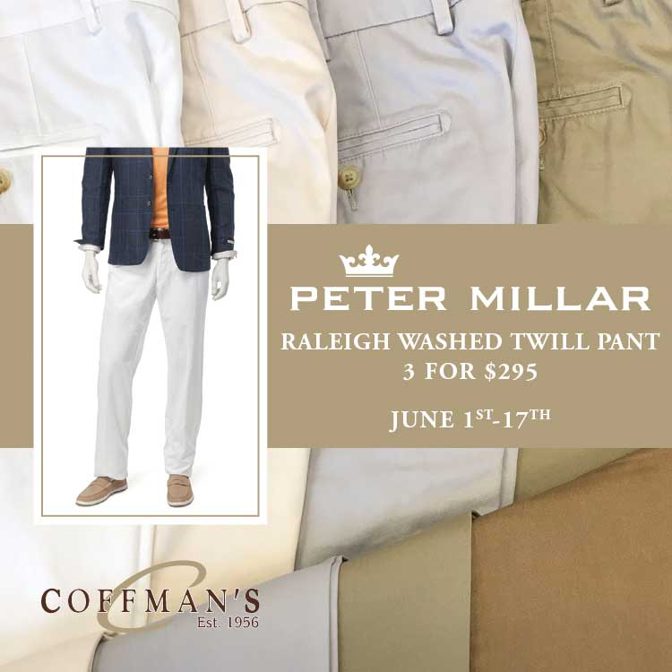 Coffman's Mens Wear Trunk Show Ad