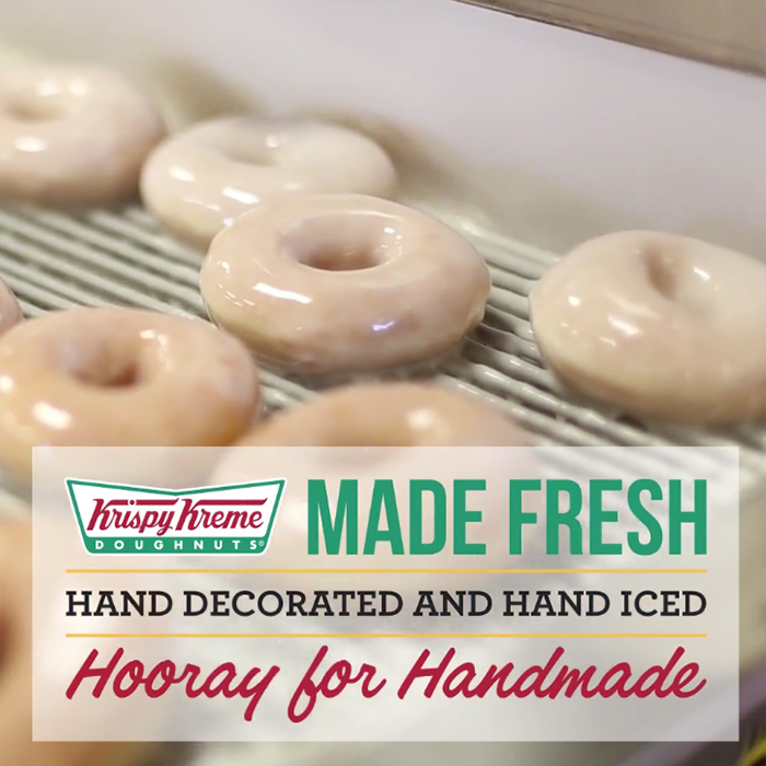 Krispy Kreme video created by Igoe Creative