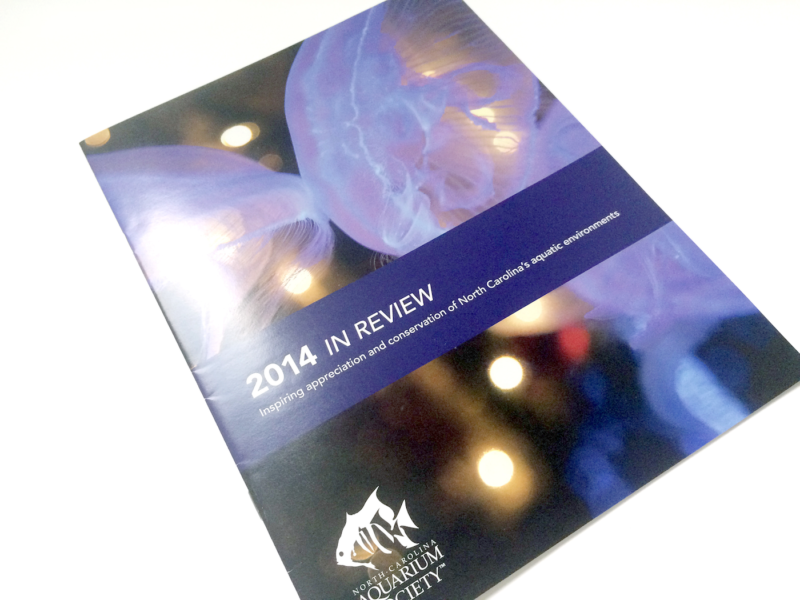 North Carolina Aquarium Society Annual Review 2014 Collateral