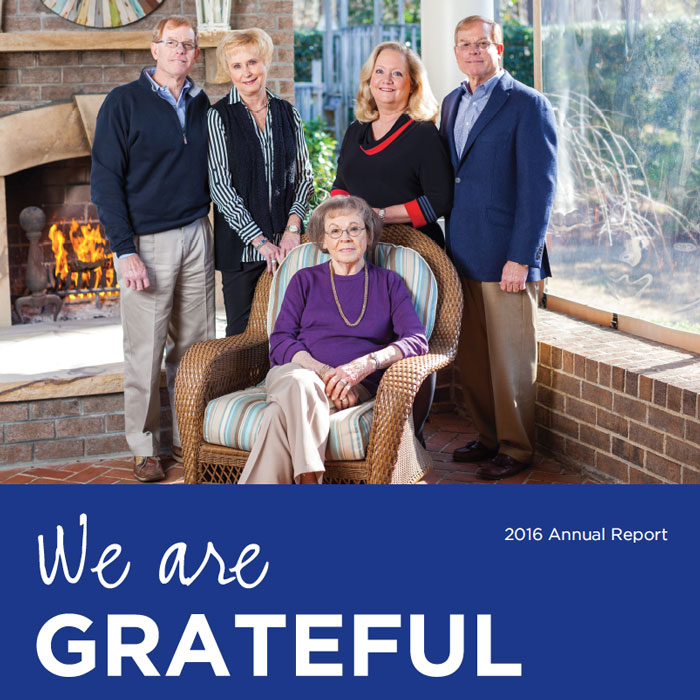 Vidant Health Foundation 2016 front cover