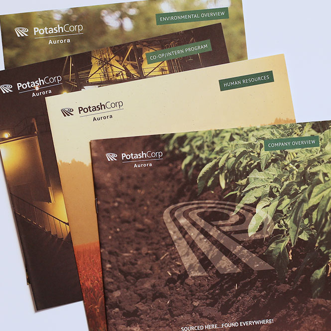 Print Collateral for PotashCorp Aurora