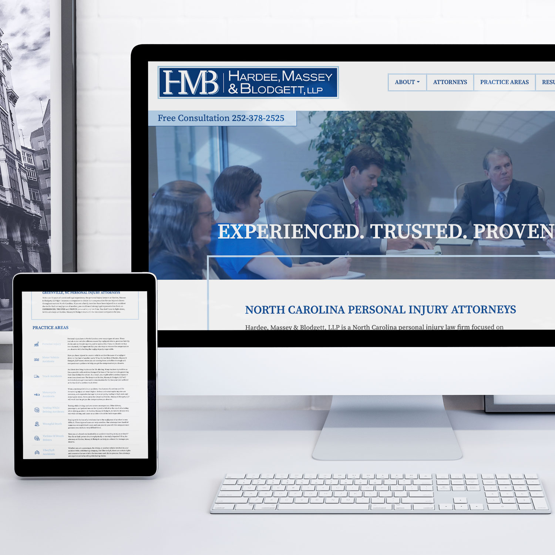 Hardee, Massey & Blodgett Website